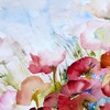 Artwork flowers multicolor nature paintings HD wallpaper