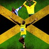 Sports flags jamaica athletes usain bolt jamaican HD wallpaper