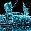 Lamborghini Wasser abstract  HD wallpaper