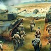 Soldiers war battlefield tanks HD wallpaper