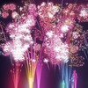 Beautiful fireworks HD wallpaper