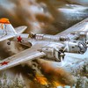 Aircraft war military bomber soviet world ii artwork HD wallpaper