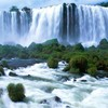 Nature falls brazil waterfalls HD wallpaper