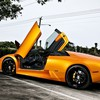 Cars lamborghini murcielago roadster HD wallpaper