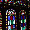 Iran ancient stained glass qazvin HD wallpaper