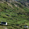 Farms on derrynane bay in ireland HD wallpaper