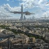 Paris futuristic fantasy art science fiction cities HD wallpaper