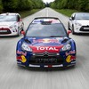 Red bull wrc citroen c4 voiture de rallye  HD wallpaper