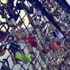 Love fences padlock locks HD wallpaper