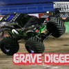 Cars monster truck grave digger jam HD wallpaper