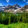 Mountainscape HD wallpaper