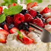 Cakes food forks fruits raspberries HD wallpaper