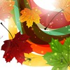 Dragonflies of fall HD wallpaper