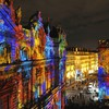 Festival france lyon fête des lumières lights HD wallpaper