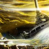 Ships rocks lara croft artwork sailing 2013 HD wallpaper