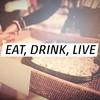 Quotes live drinks eat HD wallpaper