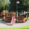 A playing ground HD wallpaper