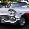 Chevrolet cars classic vehicles white HD wallpaper