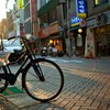 Korea motorbikes streets urban HD wallpaper