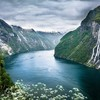 Mountains norwegian norway rivers fjord wildflowers HD wallpaper