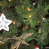 Christmas star decoration HD wallpaper