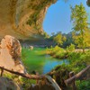 Hamilton pool texas austin landscapes natural HD wallpaper