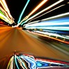Citylife lights light trails streets HD wallpaper