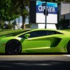 voitures de rue Lamborghini Super  HD wallpaper