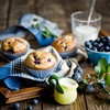 Food muffins blueberries cakes HD wallpaper