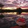 Sunset nature station australia rivers chamberlain HD wallpaper