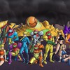 Metroid comics samus aran zero suit chozo HD wallpaper