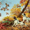 Paintings animals dogs HD wallpaper