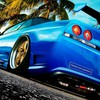 Markt nissan skyline r33 blaue Autos Tuning  HD wallpaper
