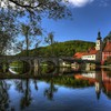 Gorgeous bridge in kallmyunts bavaria HD wallpaper