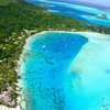 Bora near tahiti french polynesia blue lagoon HD wallpaper