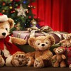 Cute teddy bear family HD wallpaper