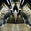Architecture stairways subway interior HD wallpaper