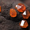 Macro gems minerals amber HD wallpaper