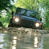 Land rover defender offroad water HD wallpaper