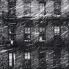 Snow houses grayscale old photography windows paul himmel HD wallpaper