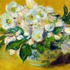 Background claude monet white still life impressionism HD wallpaper