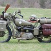 World war ii motorcycles oldschool HD wallpaper