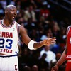 Kobe bryant michael jordan nba athletes basketball HD wallpaper