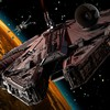 Vaisseaux spatiaux Millennium Falcon aile x science fiction oeuvre  HD wallpaper