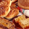 Fruits food bread honey HD wallpaper