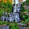 Chittenango falls nature HD wallpaper