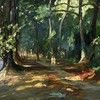 habitants des forêts artwork lacs irlandais John Lavery  HD wallpaper