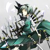 Katana weapons konpaku youmu short hair swords HD wallpaper