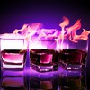Flame drink drinks flames HD wallpaper