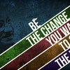 Multicolor typography deviantart gandhi digital art mahatma HD wallpaper